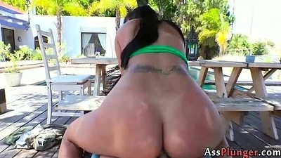 Anal Slut Kimberly Kendall - Busty At great cost Stuffs Will not hear of Asshole