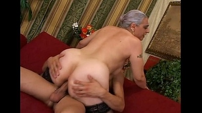 Elder bitch love cocks
