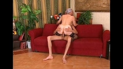 Old plus young fucks together