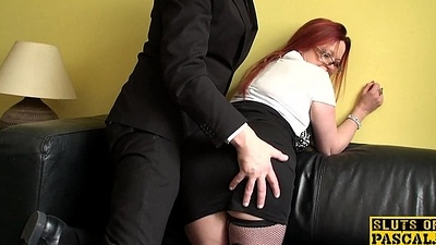 Mature british sub dominated over added to fucked