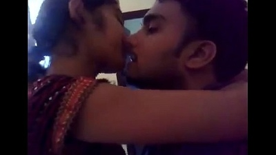 beautifull indian girl can t oversee in the first place lip kiss - long kiss