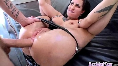 Oiled Big Ass Girl (dollie darko) In the matter of Squarely Deep In Her Behind On Camera clip-07