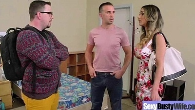 Downcast Lovely Housewife (nadia styles) With Big Melon Tits Like Sex vid-19