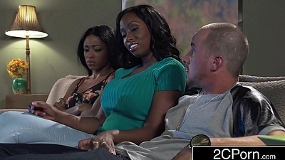 Big Tit Ebony Mummy Codi Bryant Attempts To Steal Young Anya Ivy'_s Boyfriend