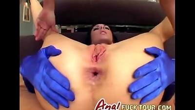 Parrot penetration irrumation brunette slut threesome