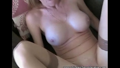 Amateur GILF Pays Her Expense