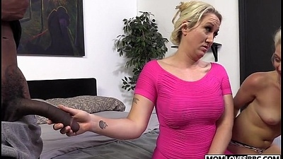 A huge big black cock for stepmom Alana Evans plus Miss Dallas