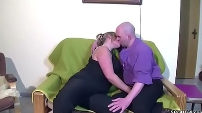 German MILF give him a fuck be expeditious for repair her Bike