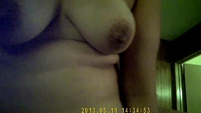 Me-my cute neighbor Mrs.Chawla having me insid her ass hole on bed-051113 part 1