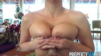 PropertySex - Real estate agency sends home customer escort as gift